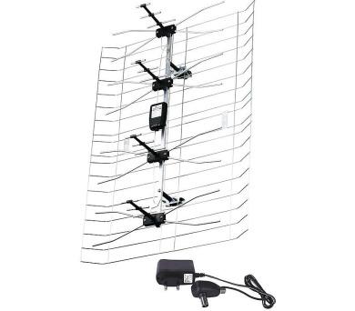 TV anténa ASP-30 DB VHF/UHF + DOPRAVA ZDARMA