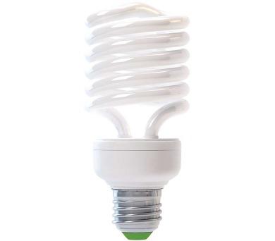 Úsporná žárovka HALF SPIRAL T2 E27 25W teplá bílá