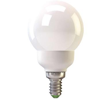 Úsporná žárovka MINI GLOBE E14 9W teplá bílá