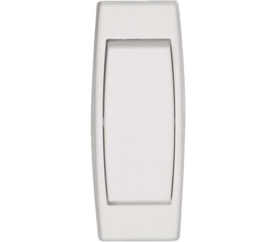 Spínač jednopólový šňůrový průchozí 3251-01915 bílý