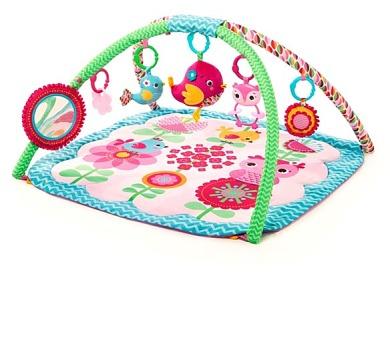 Hrací deka s hrazdou Bright Starts Bloomin' Birdies™ Activity Gym + DOPRAVA ZDARMA