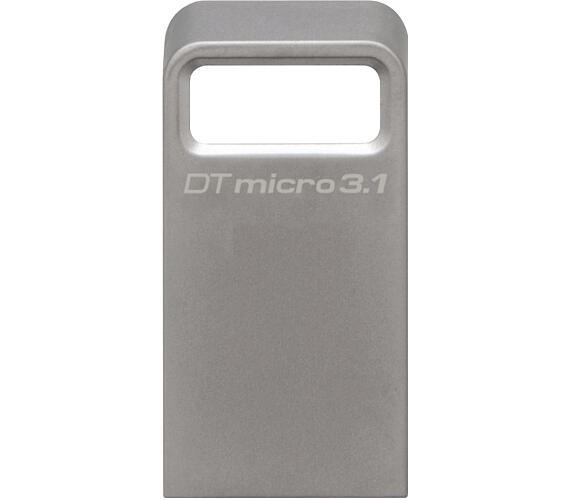 Kingston DataTraveler Micro 3.1 32GB USB 3.0 - kovový + DOPRAVA ZDARMA