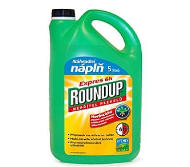 Roundup Express 6H 5l refil + DOPRAVA ZDARMA