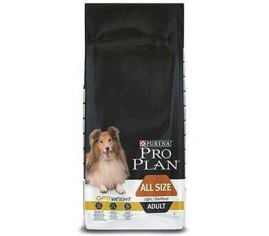 Granule Purina Pro Plan ALL SIZE ADULT Light/Sterilised 14 kg
