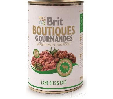 Brit Boutiques Gourmandes Lamb Bits&Paté 400g