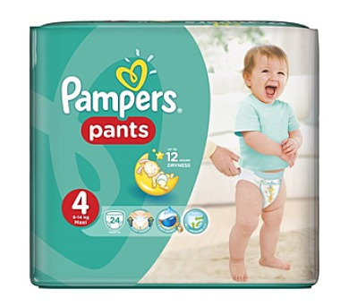 Pampers Carry Pack vel. 4