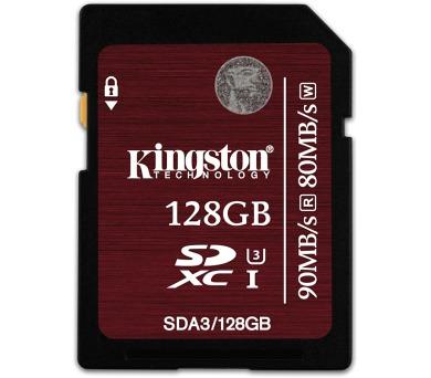Kingston SDXC 128GB UHS-I U3 (90R/80W)