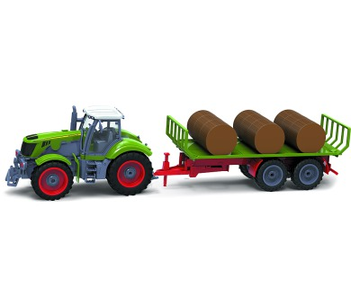 RC model traktor Buddy Toys BRC 28.622 RC Traktor + vl. + DOPRAVA ZDARMA