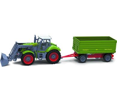 RC model traktor Buddy Toys BRC 28.610 RC Traktor + př. + DOPRAVA ZDARMA