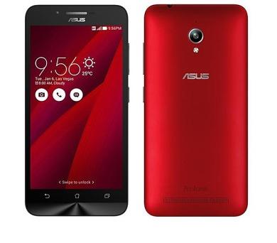 Asus ZenFone GO ZC500TG - červený + DOPRAVA ZDARMA