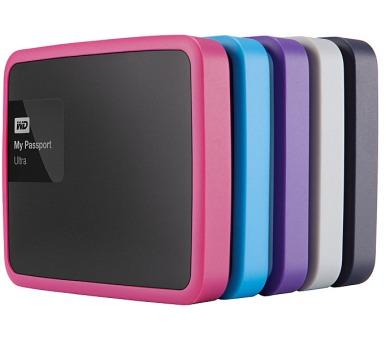 Ochranný rámeček Western Digital Grip pack pro MyPassport Ultra 1TB Slate - černá