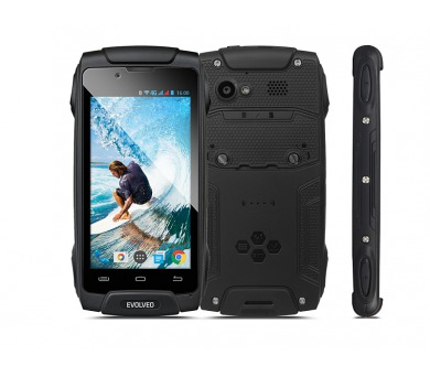Evolveo StrongPhone Q8 LTE - černý