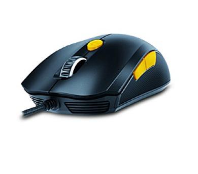 Genius GX Gaming Scorpion M6-600 / optická / 6 tlačítek / 5000dpi - černá/žlutá + DOPRAVA ZDARMA