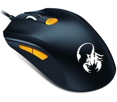 Genius GX Gaming Scorpion M8-610 / optická / 6 tlačítek / 8200dpi - černá/žlutá