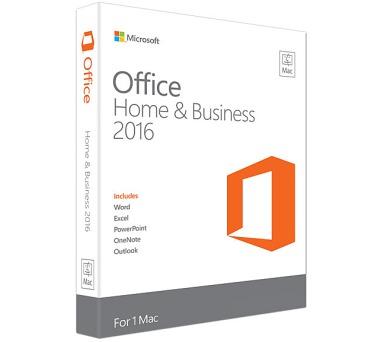 Microsoft Office 2016 ENG pro Mac Mac Home and Business + DOPRAVA ZDARMA