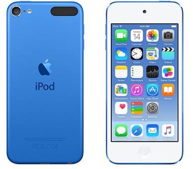 Apple iPod touch 16GB modrý