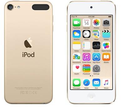 Apple iPod touch 16GB zlatý