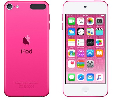 Apple iPod touch 16GB růžový