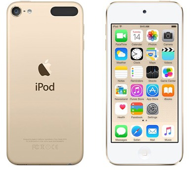 Apple iPod touch 64GB zlatý