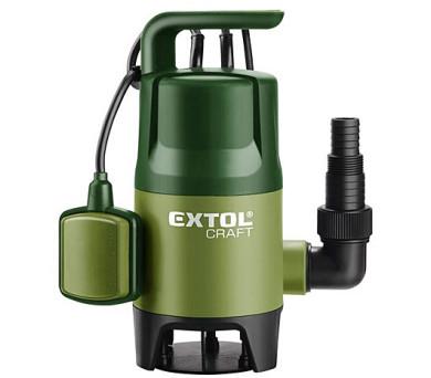 Extol Craft na znečištěnou vodu