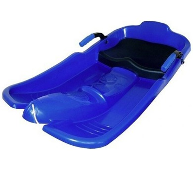 Acra Superjet plastový bob 05-A2032/1 - modrý