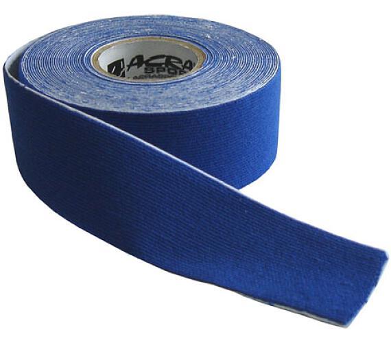 ACRA D71-MO Kinezio tape 2,5x5 m modrý