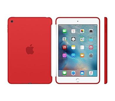 Apple Silicone Case pro iPad mini 4 - červené