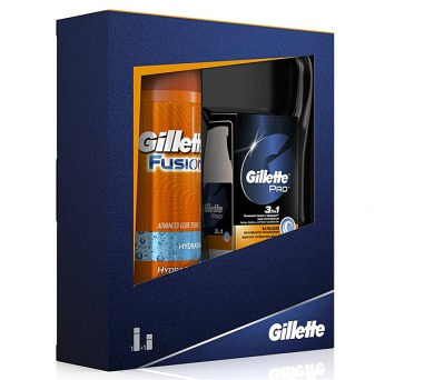 Gillette Fusion (gel na holení