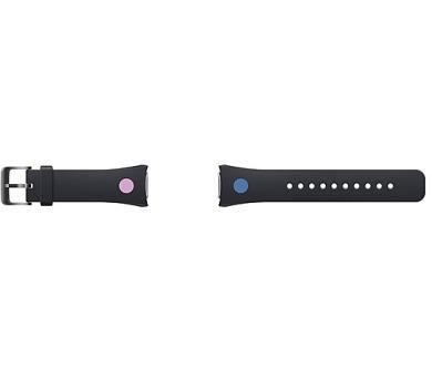 Samsung výměnný pro chytré hodinky Gear S2 - černá