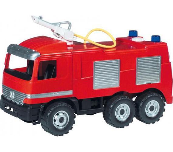 Mercedes auto hasiči plast 60cm v krabici