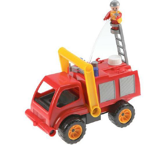 Auto hasiči aktivní plast 26cm stříkací
