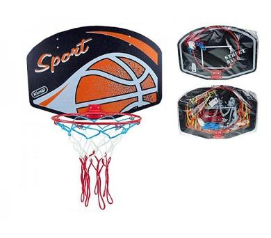 Koš na basketbal dřevo/kov 60x42cm v sáčku + DOPRAVA ZDARMA