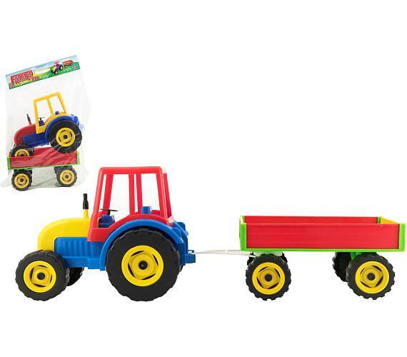 Traktor Farmer XXL s vlekem plast 69cm v sáčku + DOPRAVA ZDARMA