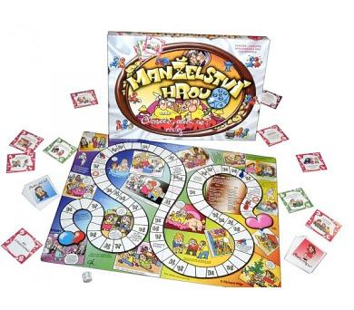 Manželství hrou + tchýně to zařídí 2 společenské hry v krabici 33x23x3cm + DOPRAVA ZDARMA