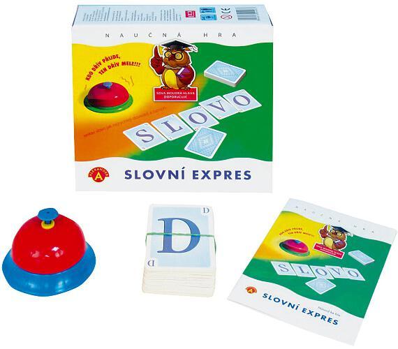 Slovní expres společenská hra v krabici 19,5x18,5x5cm + DOPRAVA ZDARMA