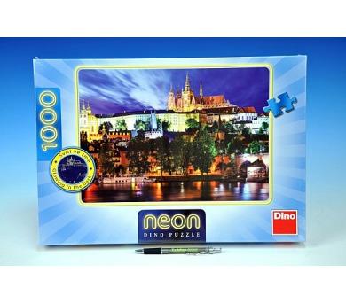 Puzzle Letní noc v Praze svítící ve tmě 66x47cm 1000 dílků v krabici + DOPRAVA ZDARMA