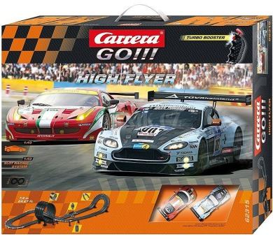 Autodráha Carrera GO!!! High Flyer 7,4m v krabici