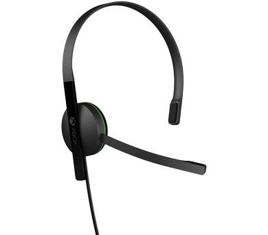 Microsoft Xbox One Chat Headset - černý + DOPRAVA ZDARMA