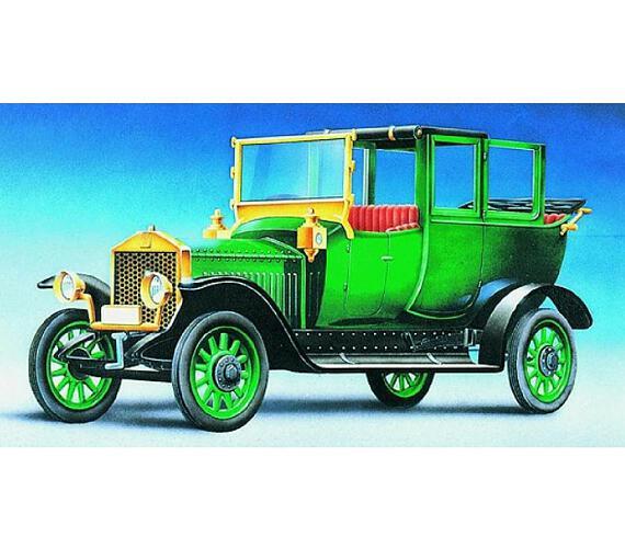 Model Olditimer Rolls Royce Silver Ghos 1911 1:32 15,2x5,6cm v krabici 25x14,5x4,5cm