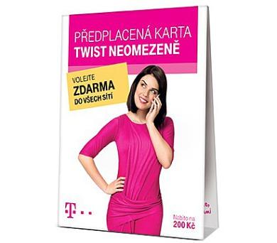 "TWIST SIM karta ""Neomezeně"" 200 Kč kredit + DOPRAVA ZDARMA"