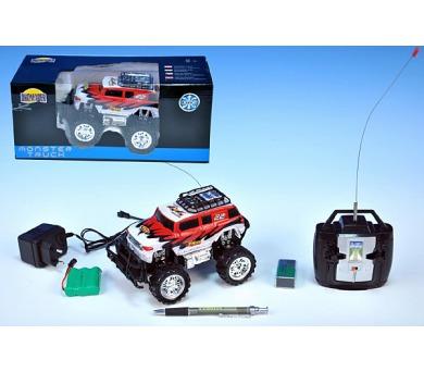 Auto RC Monster Truck 16cm na vysílačku na baterie s dobíjecím packem + adaptérem v krabici + DOPRAVA ZDARMA