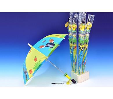 Deštník Krtek 64cm v sáčku s dřevěnou rukojetí + DOPRAVA ZDARMA