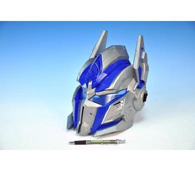 KMS Maska Transformers Optimus Prime bojová plast 26x20cm na kartě