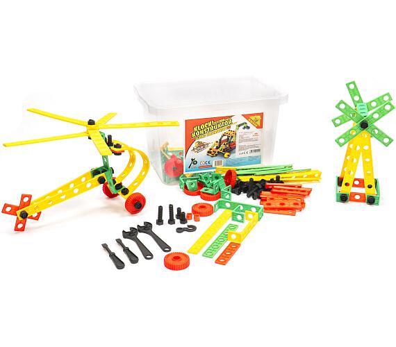 Stavebnice Variant Malý konstruktér 402 dílů v plastovém boxu + DOPRAVA ZDARMA