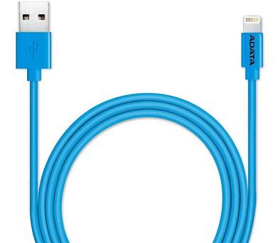 A-Data Lightning MFi 1m - modrý