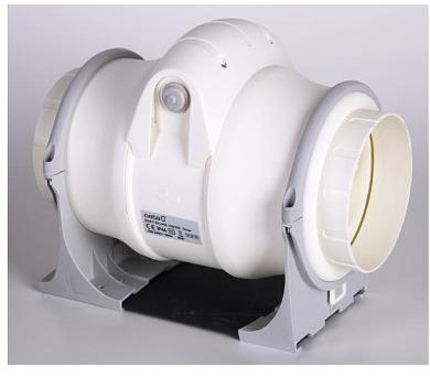 Cata Radiální ventilátor Cata DUCT IN-LINE 125/320 T + DOPRAVA ZDARMA