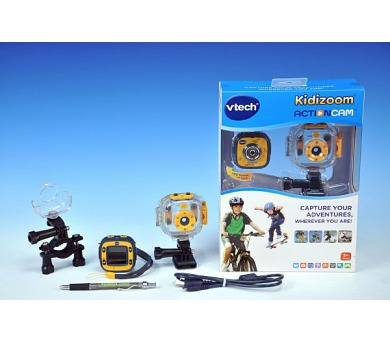 Kidizoom Action Cam Vtech Videokamera na baterie v krabici + DOPRAVA ZDARMA