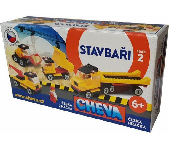 Stavebnice Cheva 2 Basic plast 352ks v kbelíku 17x22x17cm + DOPRAVA ZDARMA