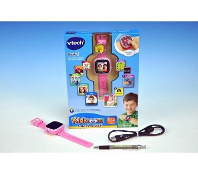 Kidizoom VTech Smart hodinky růžové s fotoaparátem a videokamerou a doplňky na baterie v krabici + DOPRAVA ZDARMA