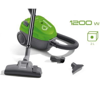 Concept VP8031 Sáčkový vysavač zelený 1200 W